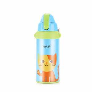 Upstyle Vakuum-Thermosflasche für Kinder, Edelstahl, Wasserflasche in hübschem Design